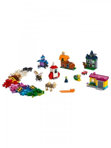 Lego - Bausteine Fenster kreativ