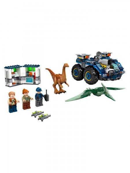 Lego - Ausbruch von Gallimimus und Pteranodon