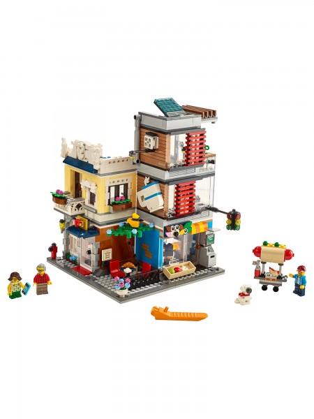 Lego - Stadthaus mit Zoohandlung