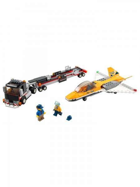 City - Lego - Flugshow-Jet-Transporter