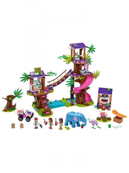 Friends - Lego - Tierrettungsstation im Dschungel