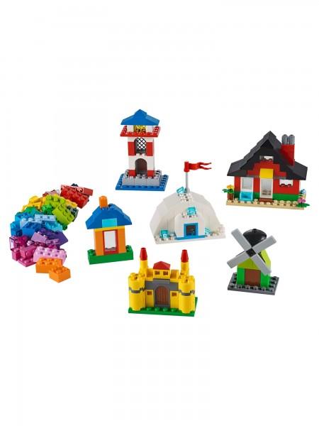 Lego - Bausteine Bunte Häuser