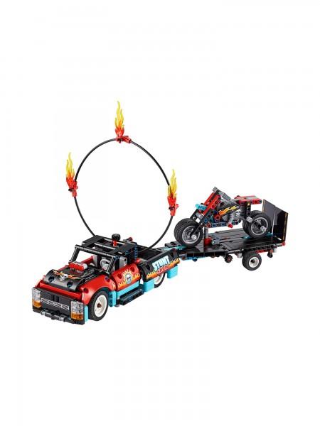 Lego - Stunt-Show mit Truck und