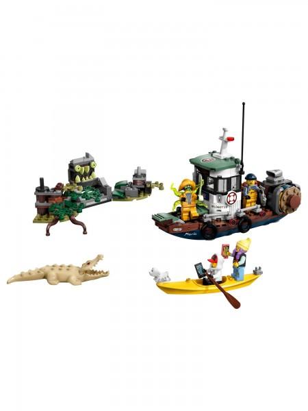 Lego - Gekenterter Garnelenkutter
