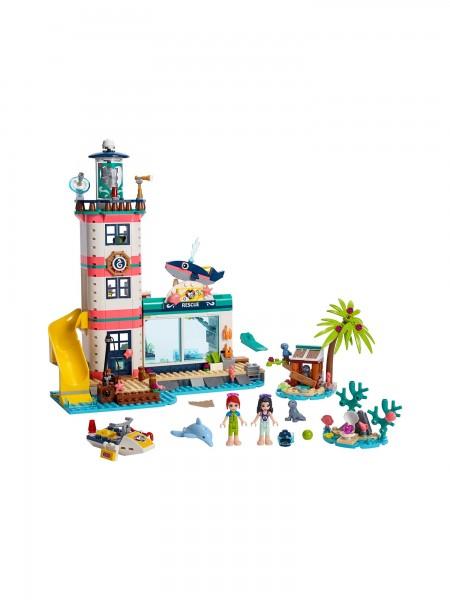 Lego - Leuchtturm mit Flutlicht