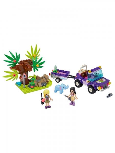 Friends - Lego - Rettung des Elefantenbabys mit Transporter
