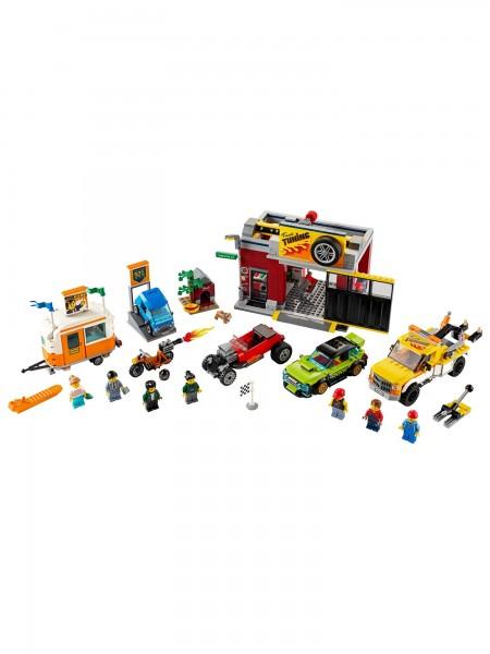 City - Lego - Tuning-Werkstatt