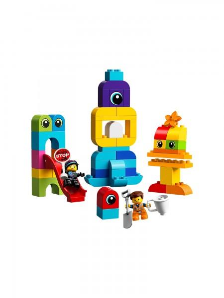 Besucher vom Planeten Lego