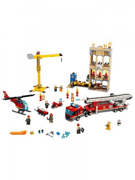 Lego - Feuerwehr in der Stadt