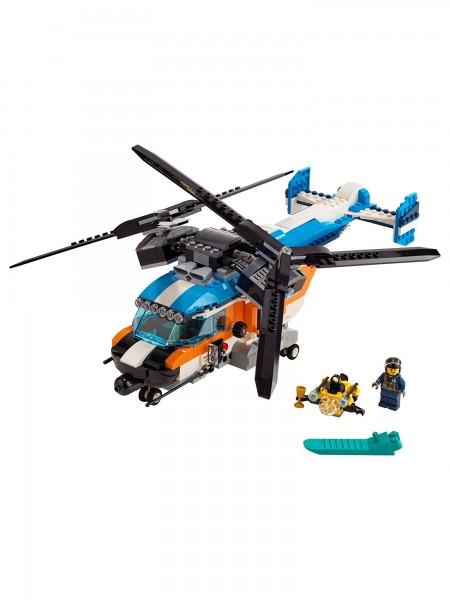 Lego - Doppelrotor-Hubschrauber