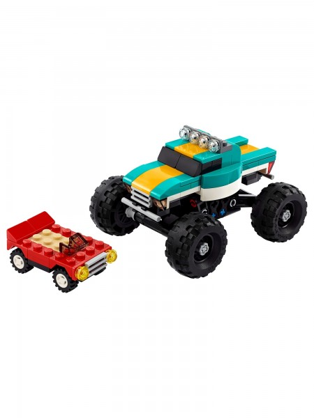 Creator 3-in-1 - Lego - Monster-Truck 163 Teile