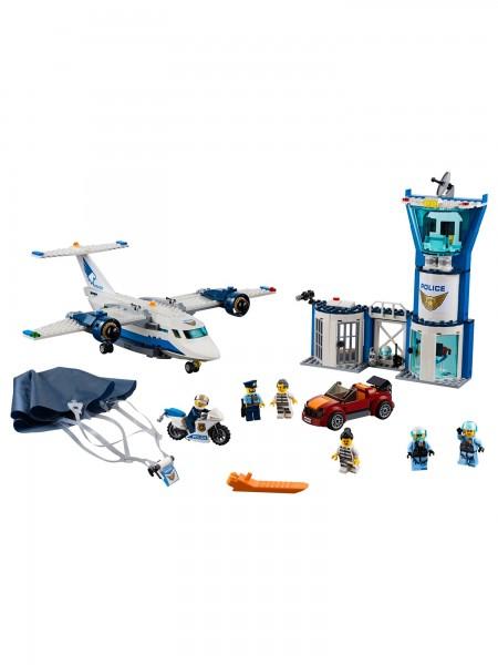 Lego - Polizei Fliegerstützpunkt