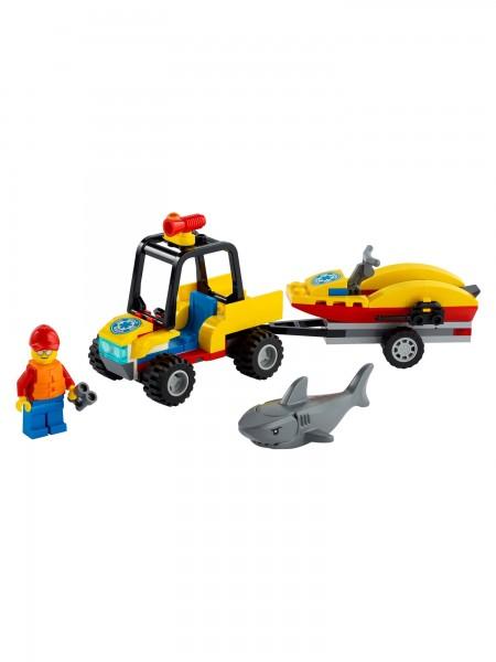 City - Lego - Strand-Rettungsquad