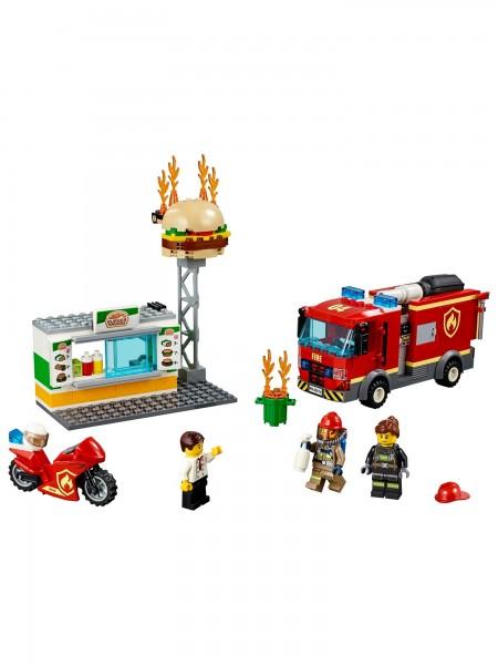 Lego - Feuerwehreinsatz im Burgerrestaurant