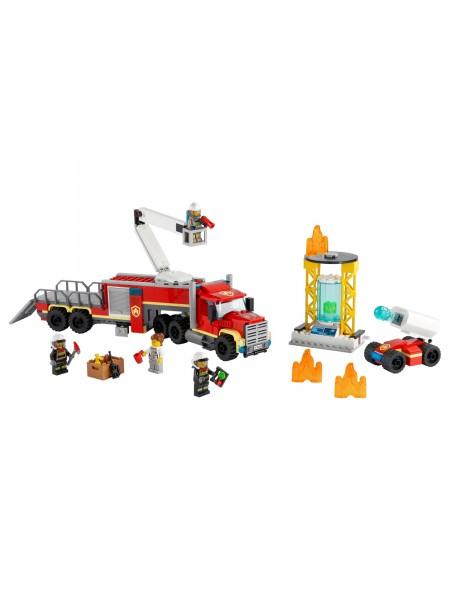 City - Lego - Mobile Feuerwehreinsatzzentrale