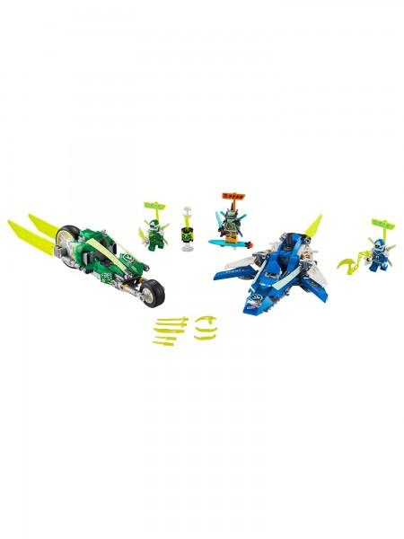 Lego - Jay und Lloyds Power-Flitzer