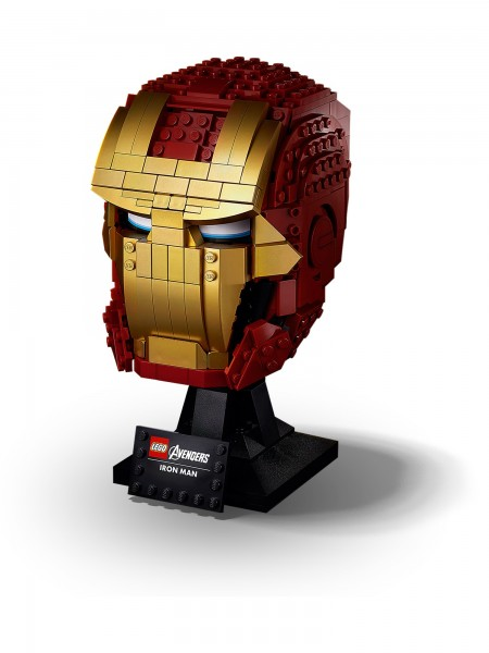 Lego - Iron Mans Helm