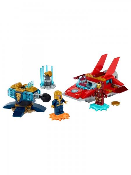 Lego - Iron Man vs. Thanos