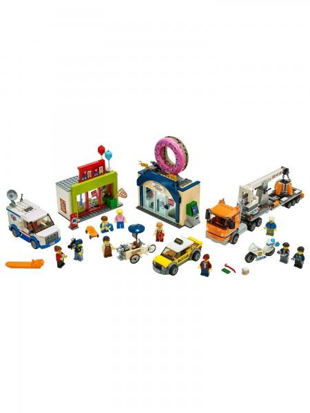 Lego - Grosse Donut-Shop-Eröffnung