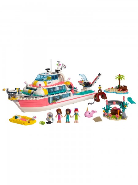Lego - Boot für Rettungsaktionen