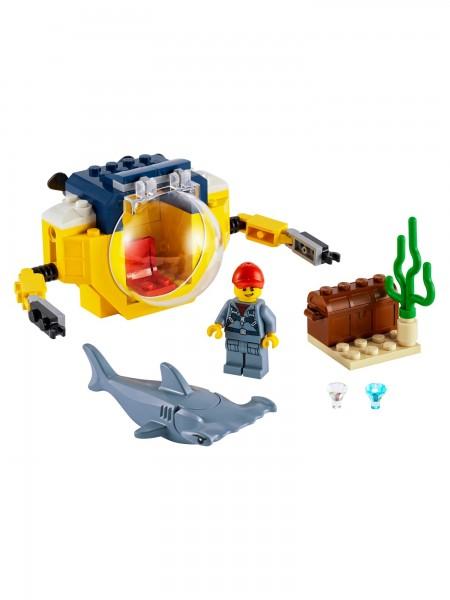 City - Lego - Mini-U-Boot für Meeresforscher
