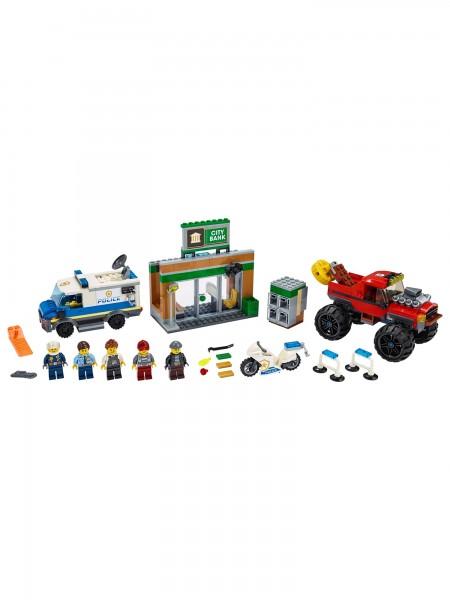 Lego - Raubüberfall mit dem Monster-Truck
