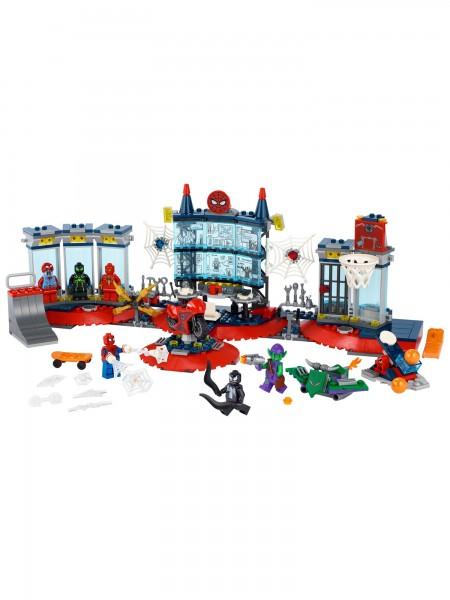 Lego - Angriff auf Spider-Mans Versteck