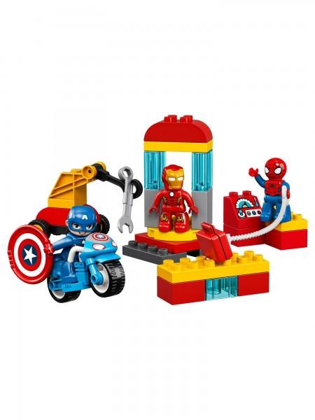 Lego - Iron Mans Labor-Treffpunkt