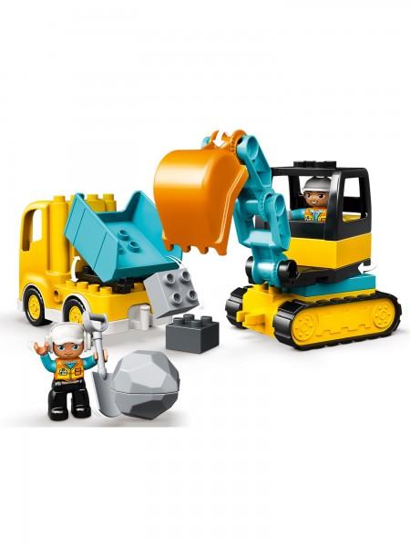 DUPLO® - Lego - Bagger & Lastwagen