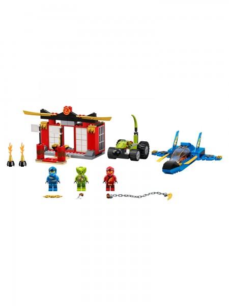 NINJAGO® - Lego - Kräftemessen mit dem Donner-Jet