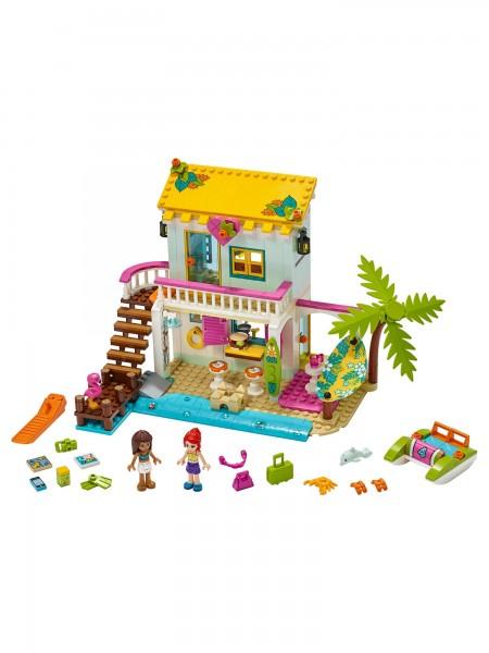 Friends - Lego - Strandhaus mit Tretboot