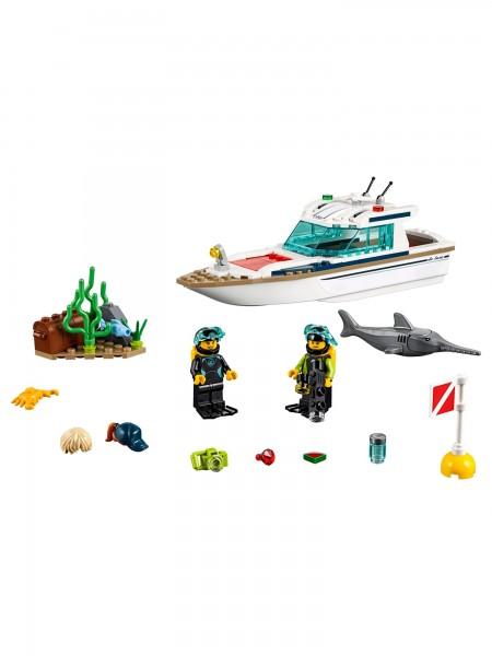 Lego - Tauchyacht