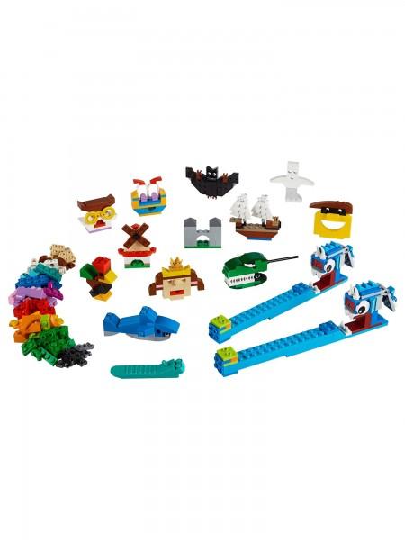 Lego - Bausteine Schattentheater