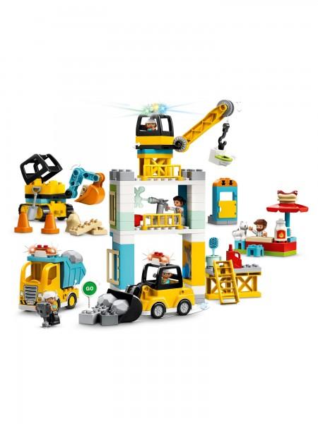 Lego - Grosse Baustelle mit Licht und Ton