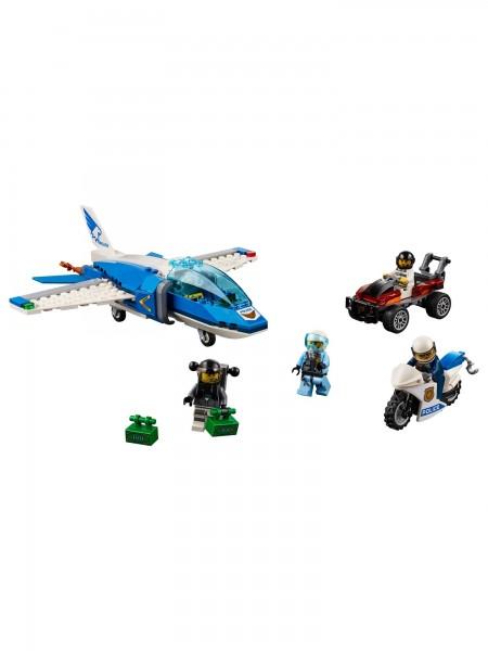 Lego - Polizei Flucht m. Fallschirm