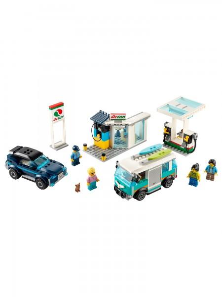 City - Lego - Tankstelle