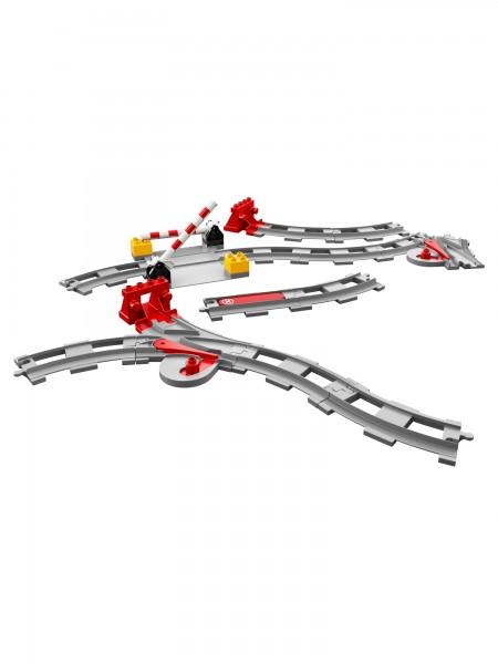 Lego - Eisenbahn Schienen