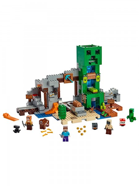 Minecraft™ - Lego - Die Creeper Mine