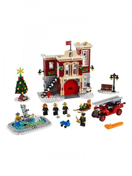 Lego - Winterliche Feuerwache
