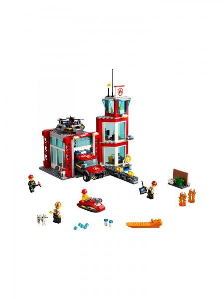 Lego - Feuerwehr-Station