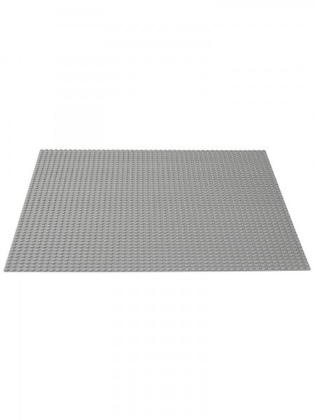 Lego - Bauplatte grau Classic