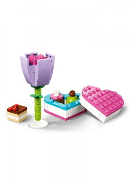 Lego - Pralinenschachtel & Blume