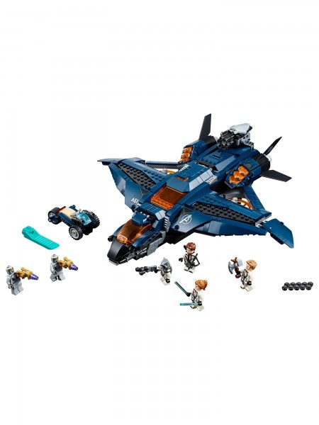 Lego - Ultimativer Avengers-Quinjet