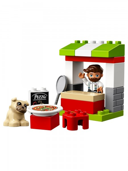 Lego - Pizza-Stand
