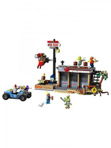 Lego - Angriff auf die Garnelenhütte