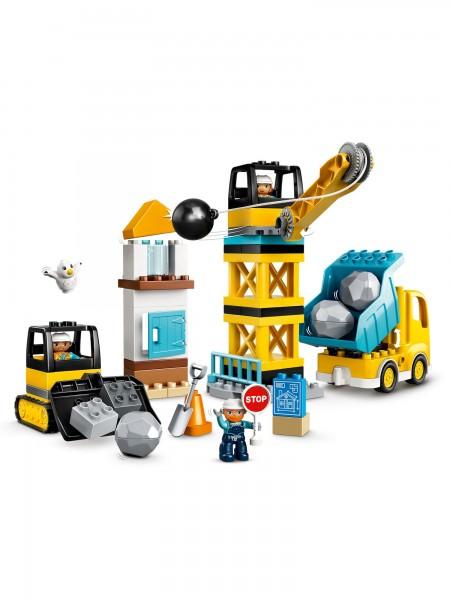 DUPLO® - Lego - Baustelle mit Abrissbirne