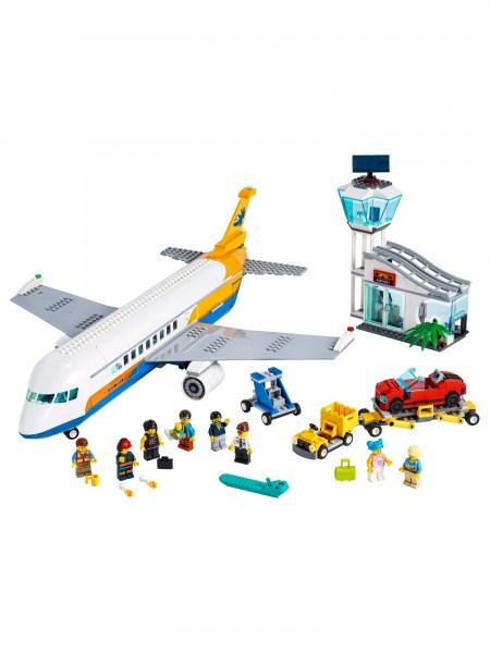 City - Lego - Passagierflugzeug