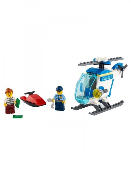 City - Lego - Polizeihubschrauber (60275)