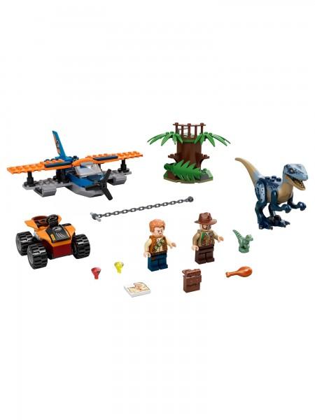 Lego - Velociraptor:Rettungsmission mit Doppeldecker