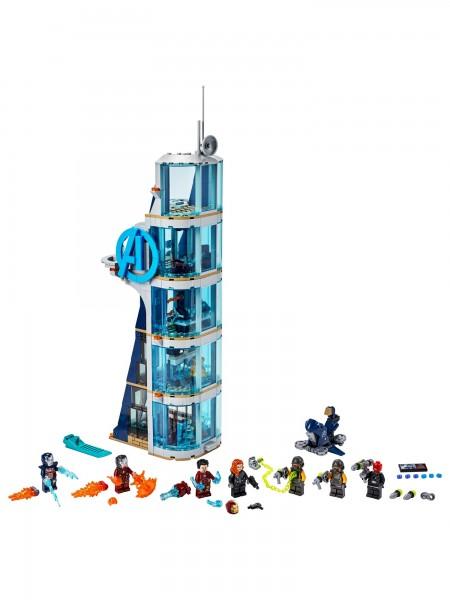 Lego - Avengers - Kräftemessen am Turm